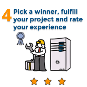 Fulfill your project and rate your experience